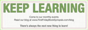 """Keep Learning"" -- It's right there on our bookmarks - Click on image for full view"