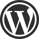 wordpress logoblk